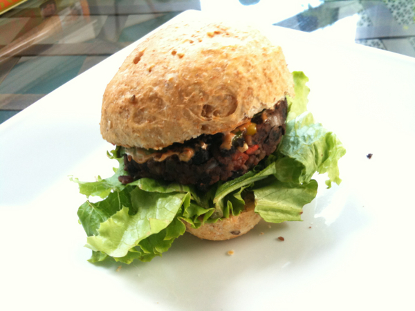 Black Bean Slider