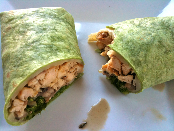 Grilled Chicken Breast, Pocini, Dijon, Swiss Cheese Wrap