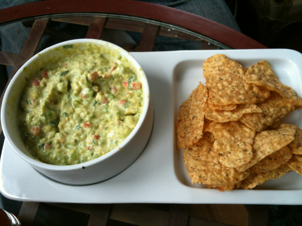 Guacamole and Multi Crain Tortilla Chips