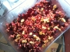 Roasted Beet, Walnut, pomegranate, and Scallion Wheatberry Salad