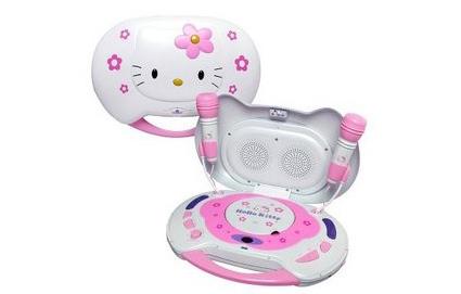 Hello Kitty Karaoke System