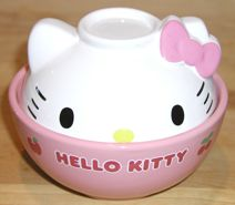 Hello Kitty Rice Bowl with Cover