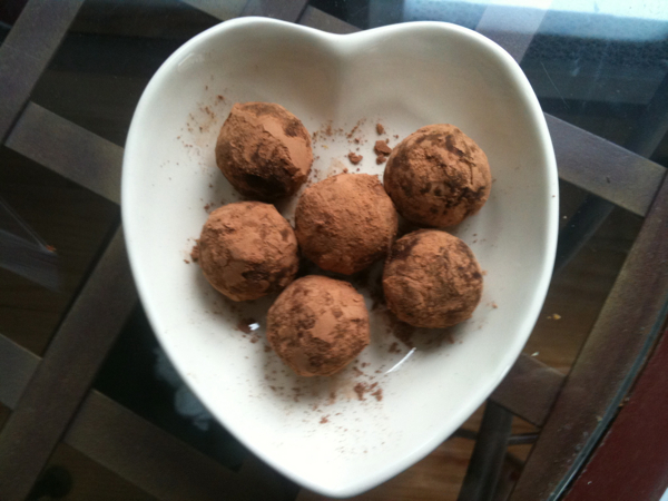 My Homemade Earl Grey Truffles