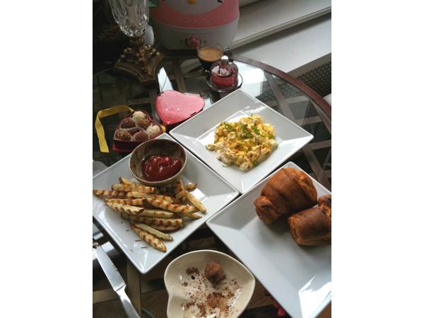 Vday breakfast