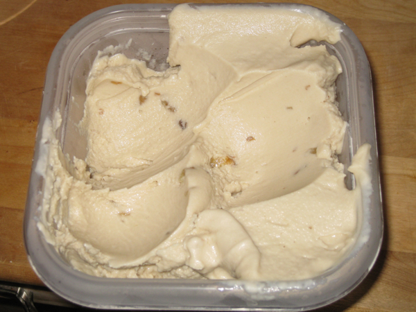 Maple Walnut Cashew Milk Raw Ice Cream
