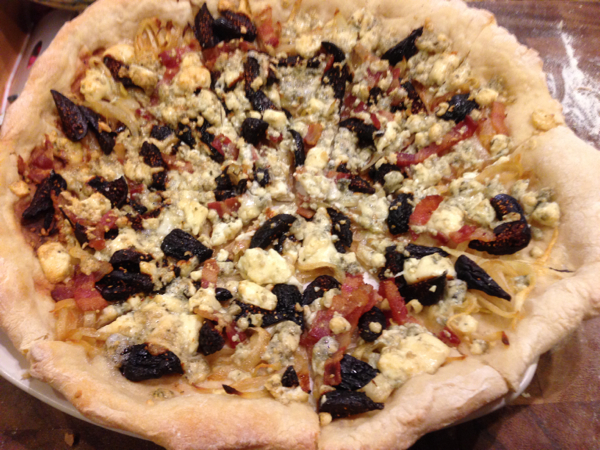 Fig and Gorgonzola Pizza
